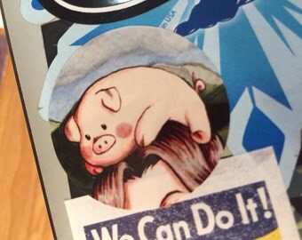 VINYL STICKER - Pig