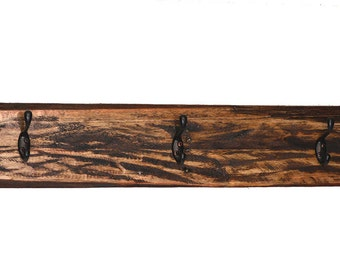 Rustic Coat Rack, Rustic Hat Rack, Reclaimed Wood Rack, Coat Rack, Country Charm Coat Rack, Rustic Towel Rack, Hand Crafted Coat Rack,