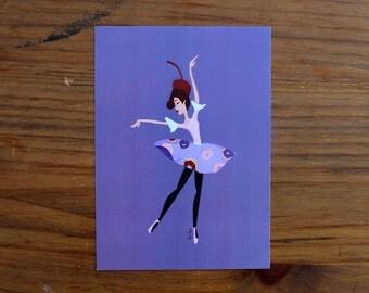 Sugar Plum / Donut Fairy - 5 x 7 Print
