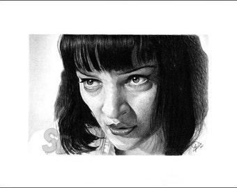 Uma Thurman / Mia Wallace (Pulp Fiction)