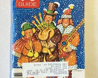 Vintage TV Guide December 20-26 1980