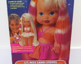 30% OFF! 1993 Mattel 'Lil Miss Candi Stripes' IN BOX