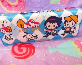 25% OFF! Vintage Japanese Kutsuwa Ladyann Kawaii Pencil Case