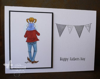 Hand Made Father's Day Card
