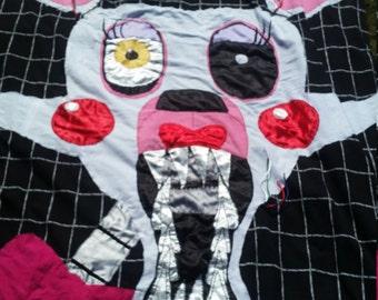 Mangle Inspired FNAF Blanket