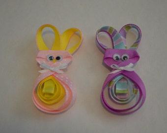 Easter/Spring Bunny Hair Clip