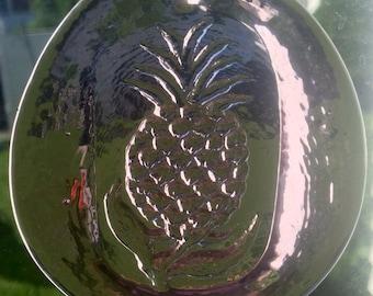 Pressed Glass Pineapple Sun Catcher