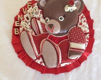Stitchable -20% discount (to do), the line Bears girl