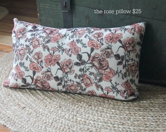 The rose pillow