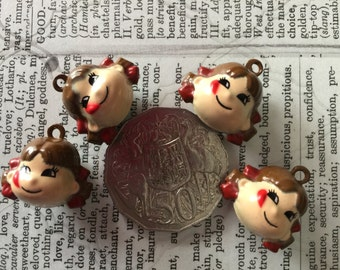 4 Girl Bell Charms