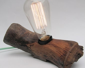 Lamp in wood - sold