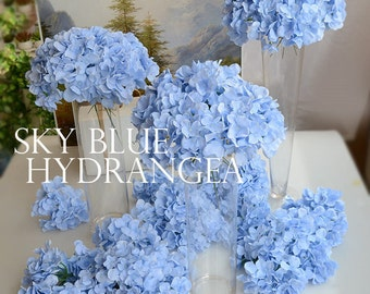 Artificial Hydrangea Flowers with Rod