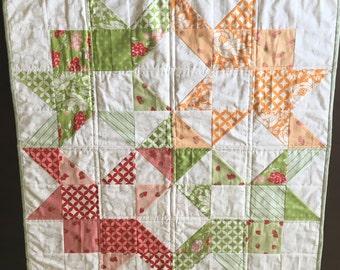 Baby moda love quilt