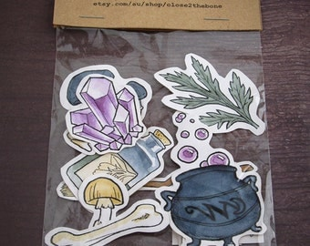 Witchy Sticker Set