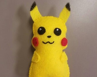 Catnip Pikachu Cat Toy