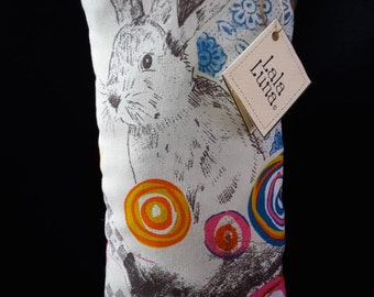 Decorative cushion Pink Bunny