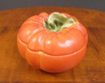 Ceramic pumpkin by Victoria Austria china