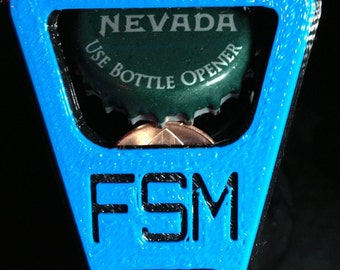 Keychain Bottle Opener 3D Printed
