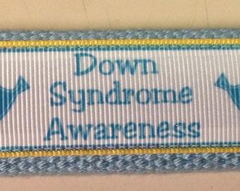 Down Syndrome Awareness key fob