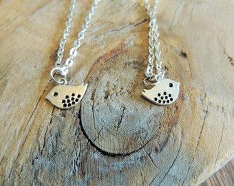 Chubby Bird Necklace