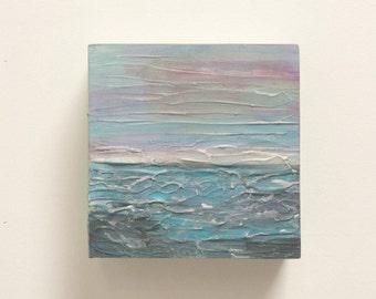 Seascape Original Acrylic Block