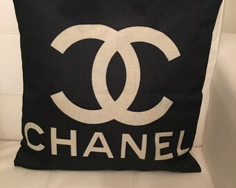 Chanel inspired pillow case