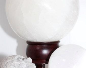 Selenite - Crystal Sphere (large)