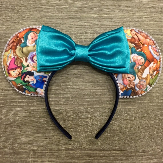 Snow and Company Ears, Seven Dwarfs Ears, Snow White Ears, Mouse Ears