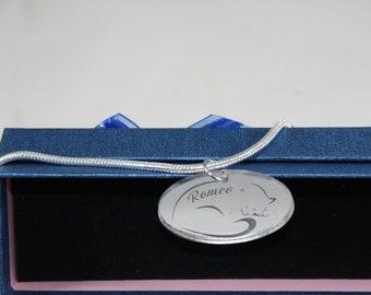 """Bracelet model """"Romeo"""" customizable name"""