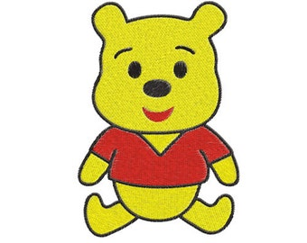 baby winnie the pooh Machine Embroidery Design -- SB846