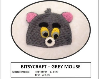 Bitsycraft - Grey Mouse