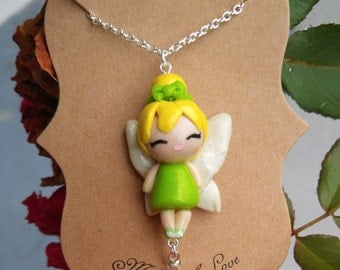 Tinkerbell Pendant Necklace