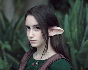 Faun Latex Ears - Satyr Pan Elf Cosplay Elven Halloween Elven Fantasy LARP