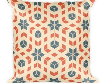 Geometrix Throw Pillow