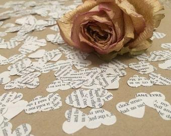 Jane Eyre book confetti