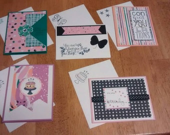 All occasions Card set of 5.