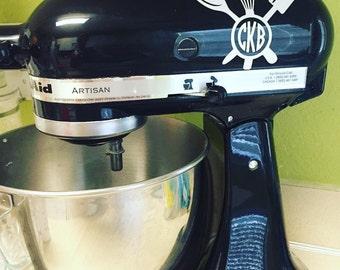 Kitchen mixer monogram