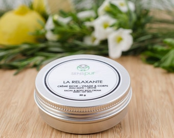 THE RELAXING cream rich face & body