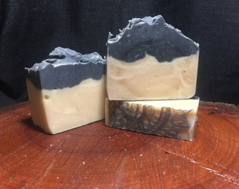 Charcoal Goats Milk Soap