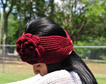 Ear Warmer,Crochet Headband,Women Headband,Acrylic
