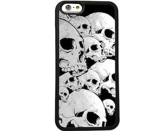 Skulls iPhone Case Cover Skull Metal - Phone 6 + 6s 5 5s 5c 5 4s 4