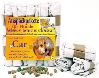 Hundebeschäftigung - Funparcels for Dogs from Germany - CAR