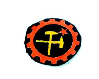 Antifascist Logo, Punk Accessories, Graphic Patch, Skinhead Logo, Logo Design, Hardcore Patch, Political Patch, Working Class Patch