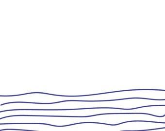 Nautical Ocean Print