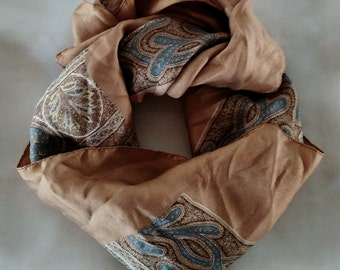 Liberty silk scarf