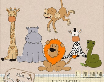 CU Jungle animals