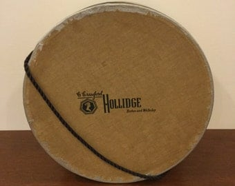 Vintage C. Crawford Hollidge Hat Box