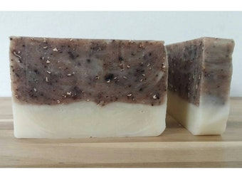 Coffee & Oats Soap, Organic Soap, Cold Process, Vegan Soap, Handmade Soap, Kitchen Soap