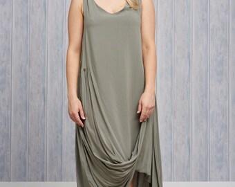 Made In Italy Drape Dress