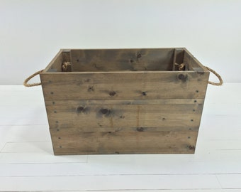 Rustic Beginnings Crate